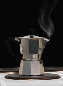 Ein Espressokocher