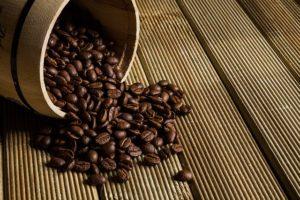 Kaffeebohnen für Maschinen