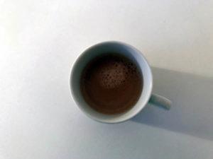 Tasse mit Espresso